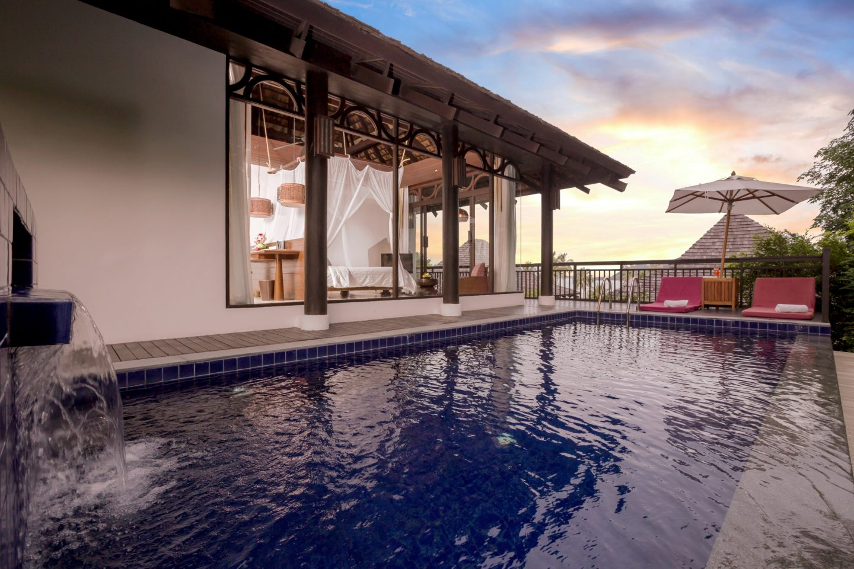 Deluxe Villa with Pool, The Vijitt Resort Phuket