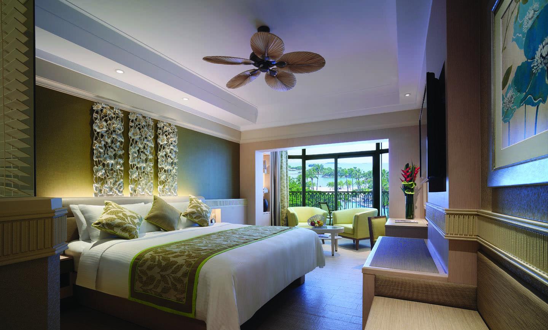 Deluxe Pool View, Shangri-La Rasa Sentosa Resort & Spa