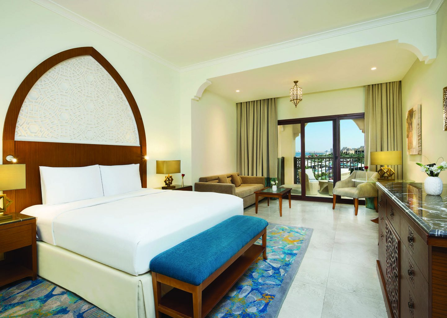 Deluxe Room with Sea View, DoubleTree by Hilton Marjan Island