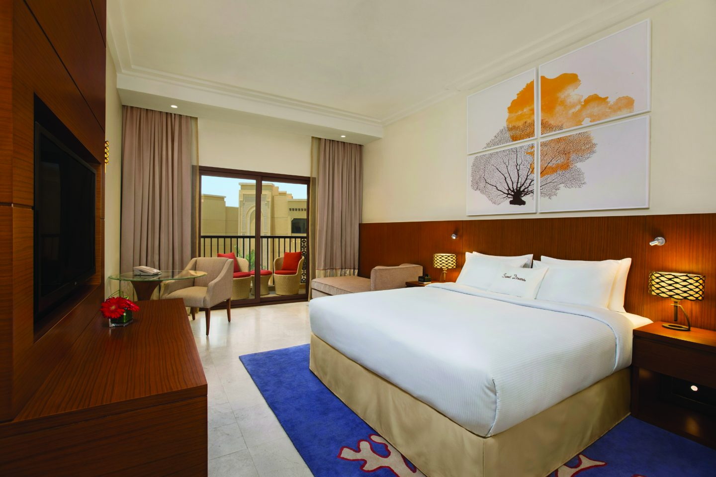 Guest Room with Pool View, DoubleTree by Hilton Marjan Island