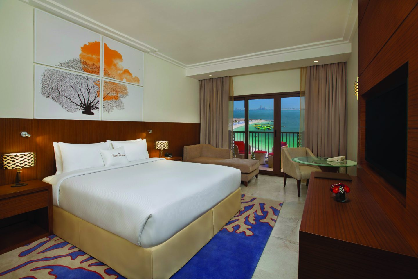 Guest Room with Sea View, DoubleTree by Hilton Marjan Island