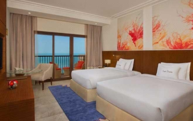 Guest Room Sea View, DOUBLETREE MARJAN ISLAND