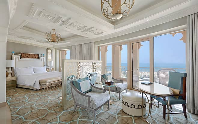 Deluxe Room With Sea View and Balcony, Waldorf Astoria Ras Al Khaimah